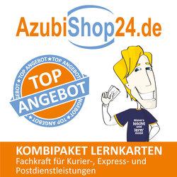 AzubiShop24.de Kombi-Paket Lernkarten Fachkraft für Kurier‐, Express‐ und Postdienstleistungen von Kaden,  Tanja, Rung-Kraus,  Michaela