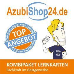 AzubiShop24.de Kombi-Paket Lernkarten Fachkraft im Gastgewerbe von Klug,  Michael, Rung-Kraus,  Michaela