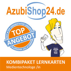 AzubiShop24.de Kombi-Paket Lernkarten Medientechnologe /in von Keßler,  Zoe, Rung-Kraus,  Michaela