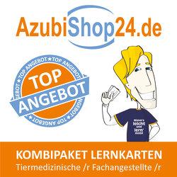 AzubiShop24.de Kombi-Paket Lernkarten Tiermedizinische /r Fachangestellte /r von Huppert-Schirmer,  Claudia, Rung-Kraus,  Michaela