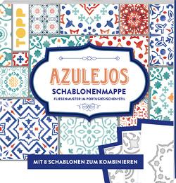 Azulejos. Schablonenmappe von Guther,  Claudia, Holz,  Daniela Charlotte