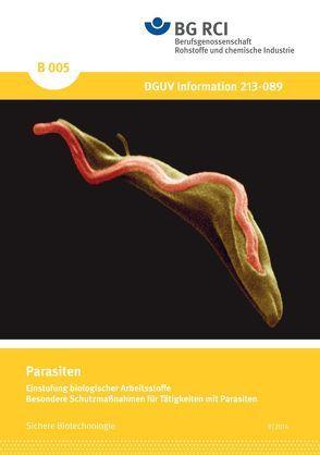B 005 – Parasiten – Einstufung biologischer Arbeitsstoffe