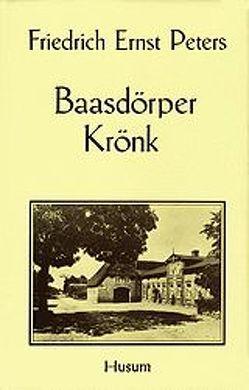 Baasdörper Krönk von Lindow,  Wolfgang, Peters,  Friedrich E, Selk,  Paul