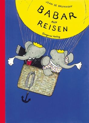 Babar auf Reisen von Brunhoff,  Jean de, Manz,  Hans