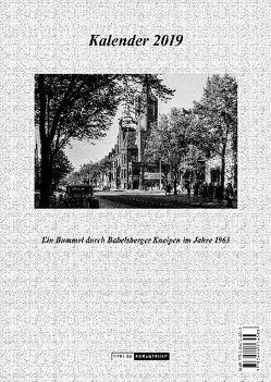 Babelsberg-Kneipen-Kalender 2019 von Fritze,  Klaus