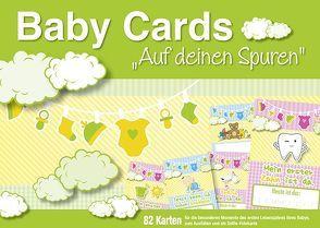 """Baby Cards """"Auf deinen Spuren"""" von familia koch Verlag"""