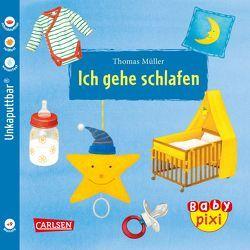 Baby Pixi 51: VE 5 Ich gehe schlafen (5 Exemplare) von Mueller,  Thomas