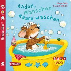 Baby Pixi 62: VE 5 Baden, planschen, Haare waschen (5 Exemplare) von Geis,  Maya, Weldin,  Frauke