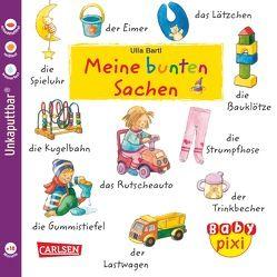 Baby Pixi 24: VE 5 Meine bunten Sachen von Bartl,  Ulla