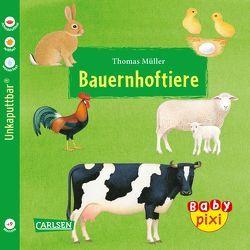 Baby Pixi 42: VE 5 Bauernhoftiere von Mueller,  Thomas