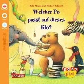 Baby Pixi 9: VE 5 Welcher Po passt auf dieses Klo? von Moost,  Nele, Schober,  Michael
