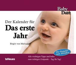 Baby Date – Das erste Jahr von Birgitt von Maltzahn, teNeues Calendars & Stationery