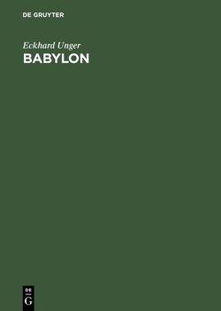 Babylon von Unger,  Eckhard