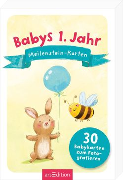 Babys 1. Jahr: Meilenstein-Karten von Jatkowska,  Ag