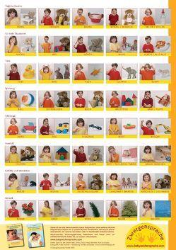 Babyzeichen-Plakat: Wichtigste Starterzeichen von König,  Vivian