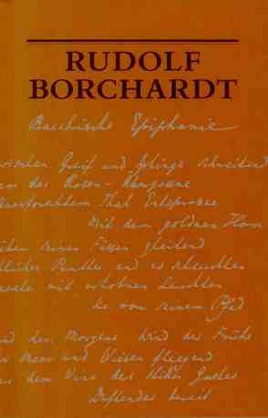 Bacchische Epiphanie von Borchardt,  Rudolf, Fischer,  Bernhard