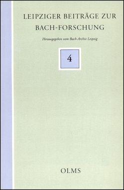 Bach, Carl Philipp Emanuel: Dokumente zu Leben und Wirken aus der zeitgenössischen hamburgischen Presse (1767-1790) von Wiermann,  Barbara