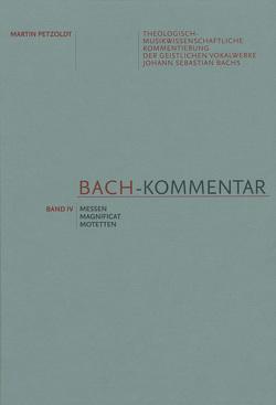Bach-Kommentar, Band IV von Bolín,  Norbert, Petzoldt,  Martin