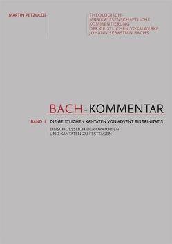 Bach-Kommentar von Bolín,  Norbert, Petzoldt,  Martin
