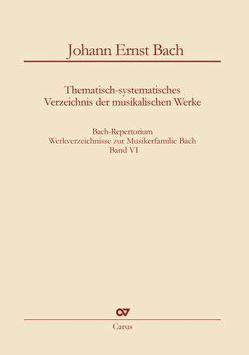 Bach-Repertorium 6: Johann Ernst Bach von Klaus,  Rettinghaus