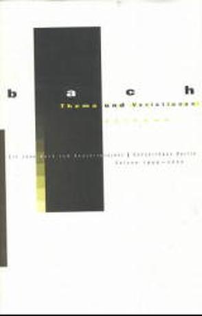 Bach – Thema und Variationen