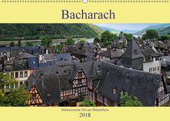 Bacharach – Sehenswerter Ort am Mittelrhein (Wandkalender 2018 DIN A2 quer) von Klatt,  Arno