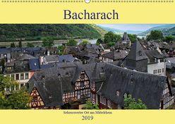 Bacharach – Sehenswerter Ort am Mittelrhein (Wandkalender 2019 DIN A2 quer)