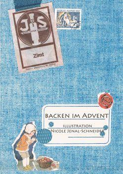 Backen im Advent von Jenal-Schneider,  Nicole