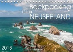 Backpacking durch Neuseeland (Tischkalender 2018 DIN A5 quer) von Gschmeißner,  Steven, van der Wiel,  Irma