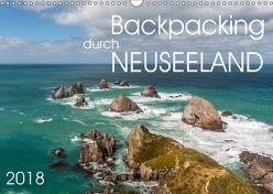 Backpacking durch Neuseeland (Wandkalender 2018 DIN A3 quer) von Gschmeißner,  Steven, van der Wiel,  Irma