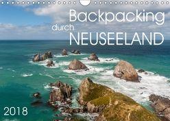 Backpacking durch Neuseeland (Wandkalender 2018 DIN A4 quer) von Gschmeißner,  Steven, van der Wiel,  Irma