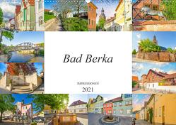 Bad Berka Impressionen (Wandkalender 2021 DIN A2 quer) von Meutzner,  Dirk