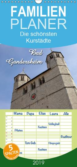 Bad Gandersheim – Familienplaner hoch (Wandkalender 2019 , 21 cm x 45 cm, hoch) von Berg,  Martina
