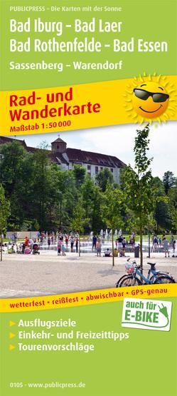 Bad Iburg – Bad Laer – Bad Rothenfelde – Bad Essen, Sassenberg – Warendorf