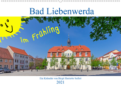Bad Liebenwerda im Frühling (Wandkalender 2021 DIN A2 quer) von Harriette Seifert,  Birgit