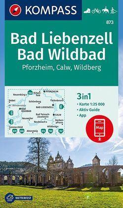 Bad Liebenzell, Bad Wildbad von KOMPASS-Karten GmbH