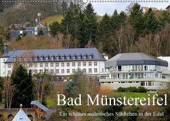 Bad Münstereifel – Ein schönes malerisches Städtchen in der Eifel / Geburtstagskalender (Wandkalender 2019 DIN A2 quer) von Klatt,  Arno