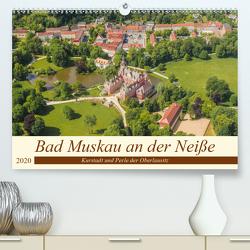Bad Muskau an der Neiße (Premium, hochwertiger DIN A2 Wandkalender 2020, Kunstdruck in Hochglanz) von Fotografie,  ReDi