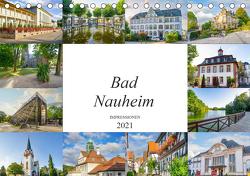 Bad Nauheim Impressionen (Tischkalender 2021 DIN A5 quer) von Meutzner,  Dirk