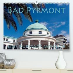 Bad Pyrmont – eine Kurstadt mit Flair (Premium, hochwertiger DIN A2 Wandkalender 2021, Kunstdruck in Hochglanz) von happyroger