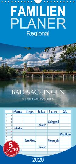 Bad Säckingen – Die Perle am Hochrhein – Familienplaner hoch (Wandkalender 2020 , 21 cm x 45 cm, hoch) von und Philipp Kellmann,  Stefanie