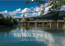 Bad Säckingen – Die Perle am Hochrhein (Wandkalender 2019 DIN A2 quer) von und Philipp Kellmann,  Stefanie