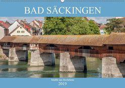 Bad Säckingen – Städtle am Hochrhein (Wandkalender 2019 DIN A2 quer) von Brunner-Klaus,  Liselotte