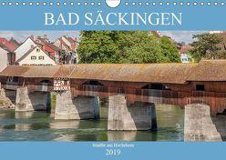 Bad Säckingen – Städtle am Hochrhein (Wandkalender 2019 DIN A4 quer) von Brunner-Klaus,  Liselotte