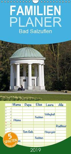 Bad Salzuflen – Familienplaner hoch (Wandkalender 2019 , 21 cm x 45 cm, hoch) von Berg,  Martina