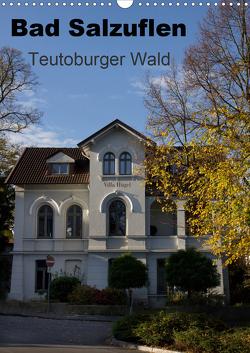 Bad Salzuflen – Teutoburger Wald (Wandkalender 2021 DIN A3 hoch) von Peitz,  Martin