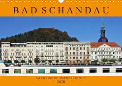 Bad Schandau – Sächsische Impressionen (Wandkalender 2020 DIN A3 quer) von Felix,  Holger