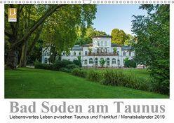 Bad Soden am Taunus (Wandkalender 2019 DIN A3 quer) von Vonten,  Dirk