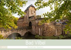 Bad Vilbel – Kurort der Quellen (Wandkalender 2021 DIN A2 quer) von Schonnop,  Juergen