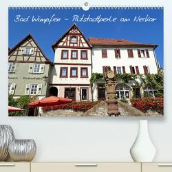 Bad Wimpfen – Altstadtperle am Neckar (Premium, hochwertiger DIN A2 Wandkalender 2020, Kunstdruck in Hochglanz) von Andersen,  Ilona